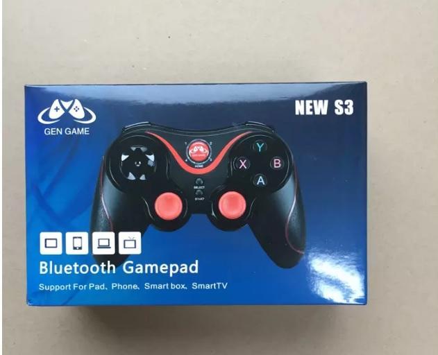 겐 게임 S3 무선 3.0 블루투스 게임 패드 원격 제어 조이스틱 PC 게임 컨트롤러 스마트 폰 / 타블렛