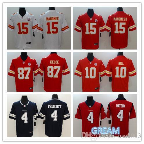 5e3d90814 Kansas City Chiefs 15 Patrick Mahomes II 87 Travis Kelce 10 Tyreek ...