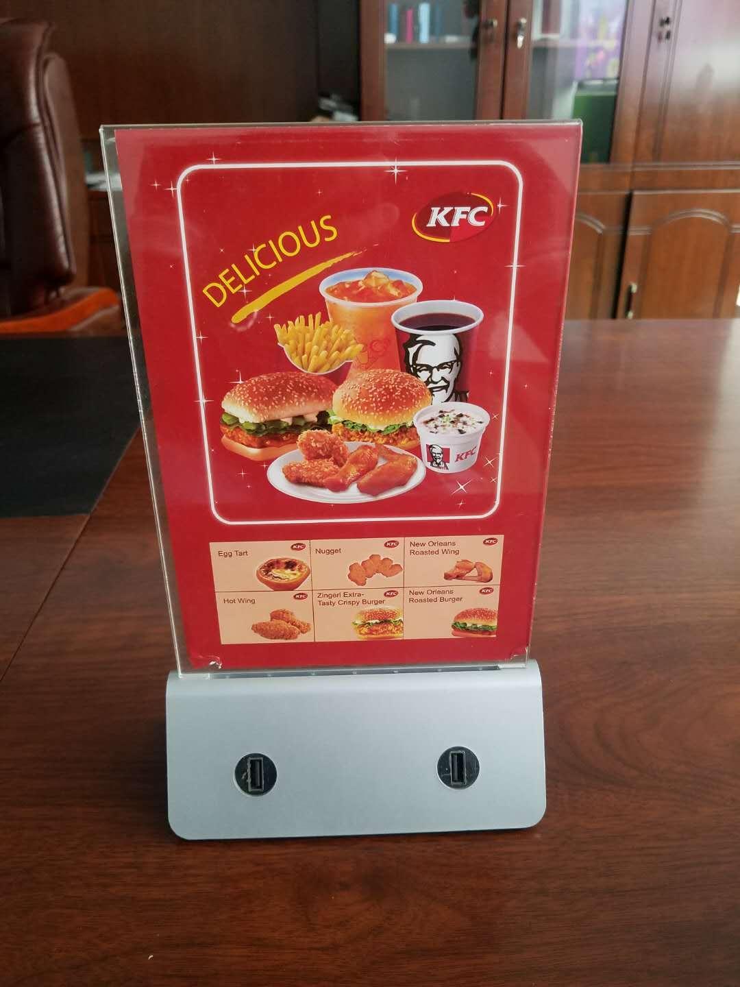 Высокая емкость портативный аккумулятор банк 10000 мАч 13000 мАч кафе ресторан меню телефон Power bank с 4 выходами USB зарядка