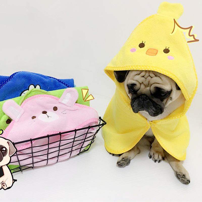 07a0765e061d 2019 Puppy Dog Towel Drying Towels For Dogs Bathrobe Absorbent Shower Dog  Bath Towel Blankets Cleaning Pet Product Chihuahua Mascotas From Aurorl, ...