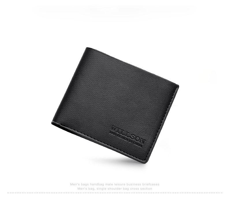 Fashion Designer clutch Wallet Men Short Wallets Black Tide Purse Casual Handbags Leather Wallet Standard Wallets New Arrival
