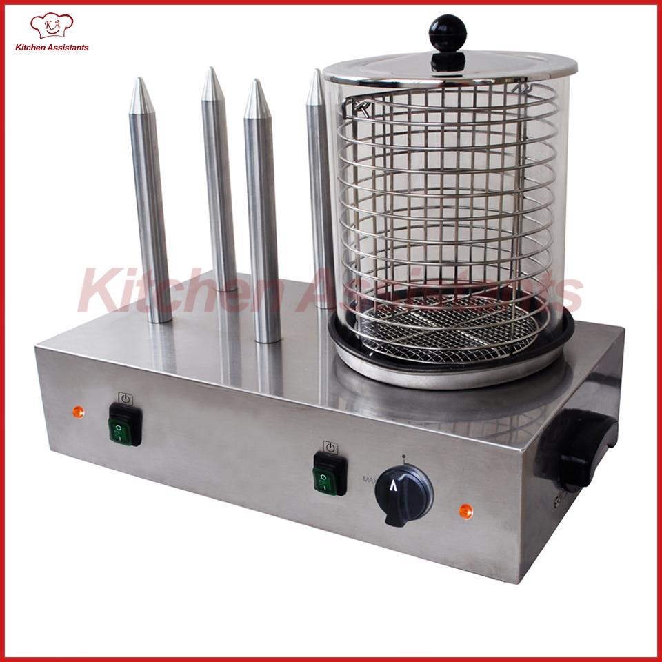 HHD1 Electric Hot Dog Machine of Catering Equipment Hot Dog Grill ...