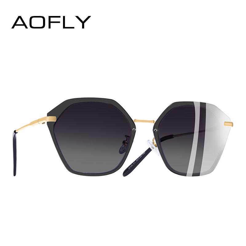 0deb1f4ad4 AOFLY BRAND DESIGN Vintage Sunglasses Women Fashion Polarized Sunglasses  Female Shield Frame Shades UV400 A145 Sunglasses Case Knockaround Sunglasses  From ...