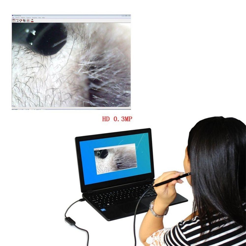 Pro 2-em-1 USB Ferramenta de Limpeza Da Orelha de Limpeza Da Orelha Endoscópio HD Visual Ear Colher Multifuncional Earpick Com Mini Câmera Caneta Câmera