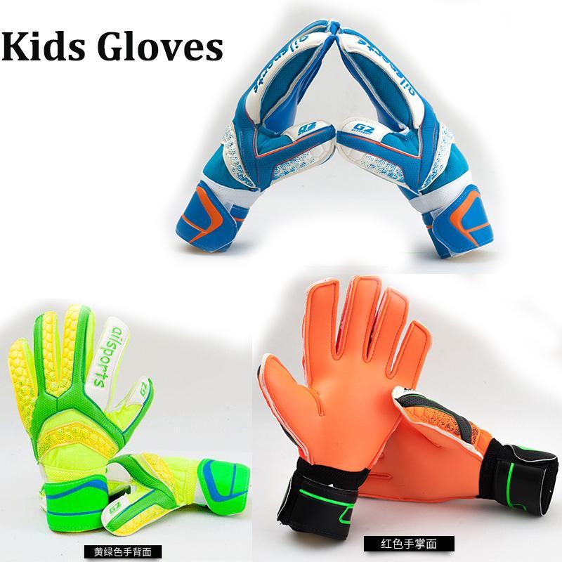 2019 Ailsports Kids Soccer Goalkeeper Glove For Kids Football Latex