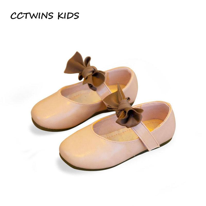 c3c731113 Compre CCTWINS KIDS 2018 Otoño Toddler Fashion Party Shoe Niños Moda Pu Cuero  Mary Jane Baby Girl Mariposa Zapato GM2115 A  34.61 Del Windowplant