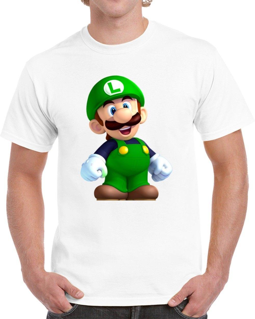 139a9c48f Luigi Tshirt All Styles And Colors Available New Fashion 100% Cotton For  Man Tee Cheap Wholesale 100% Cotton Classic Tee Humor T Shirt Funny Ts From  ...