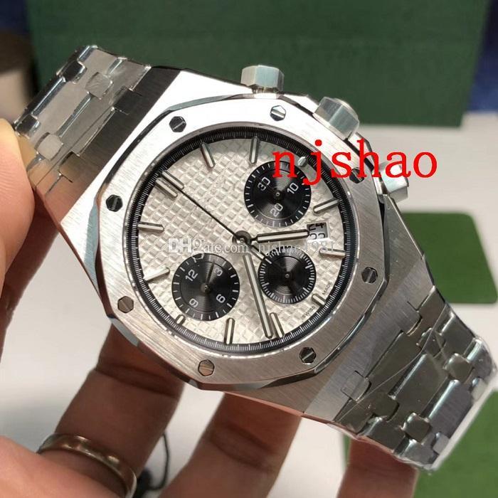 2018 Luxury Aaa Wristwatches Chronograph Japanese Fly Back Quartz