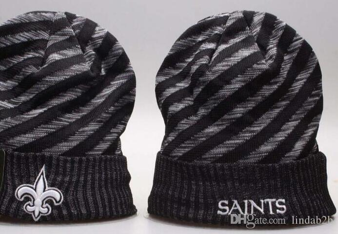 2019 2019 American City All Team Saints Beanies Sports Caps Pom Hat Men  Women Sideline Cold Weather TD Knit Hat Beanie Knitted Wool Cap From  Lindab2b d02820247ea