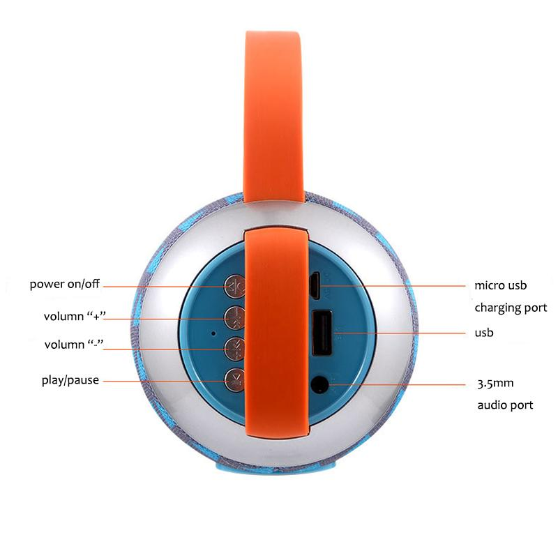 New TG112 Portable Hand-held Bluetooth Waterproof speaker Double Horn outdoor travel wireless subwoofer Support TF FM Card