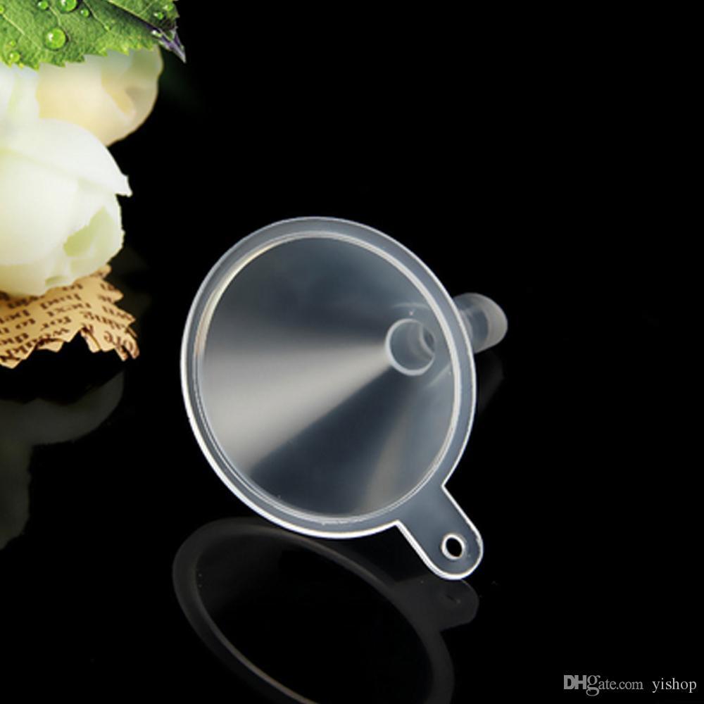 Прозрачное мини-воронки жидкости заполняя инструменты прозрачный мини духи жидкость эфирное масло заполнения пустую бутылку упаковки инструментов