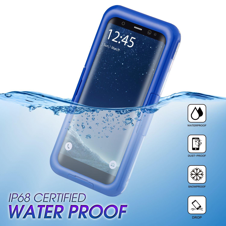 6441e4e3b0a Carcasa Movil IP68 Funda Impermeable De Teléfono Celular Híbrida 2 En 1  Cubierta A Prueba De Golpes Para Iphone X XS MAX XR 7 8 6 Más Samsung S9 S8  S10 S10e ...