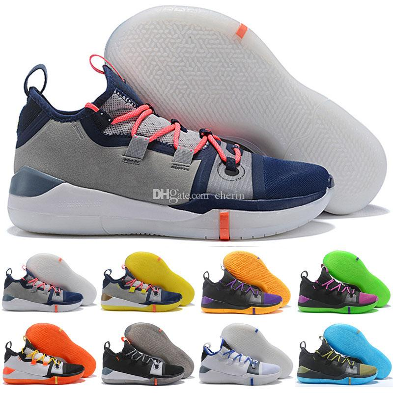 6c70509573e8 2019 New Kobe AD Mamba Day A.D. EP Sail Multi Color Mens Casual Shoes Size  7 12 Kobe Bryant Casual Shoes Size 7 12 Ladies Shoes Loafers For Men From  Cherin