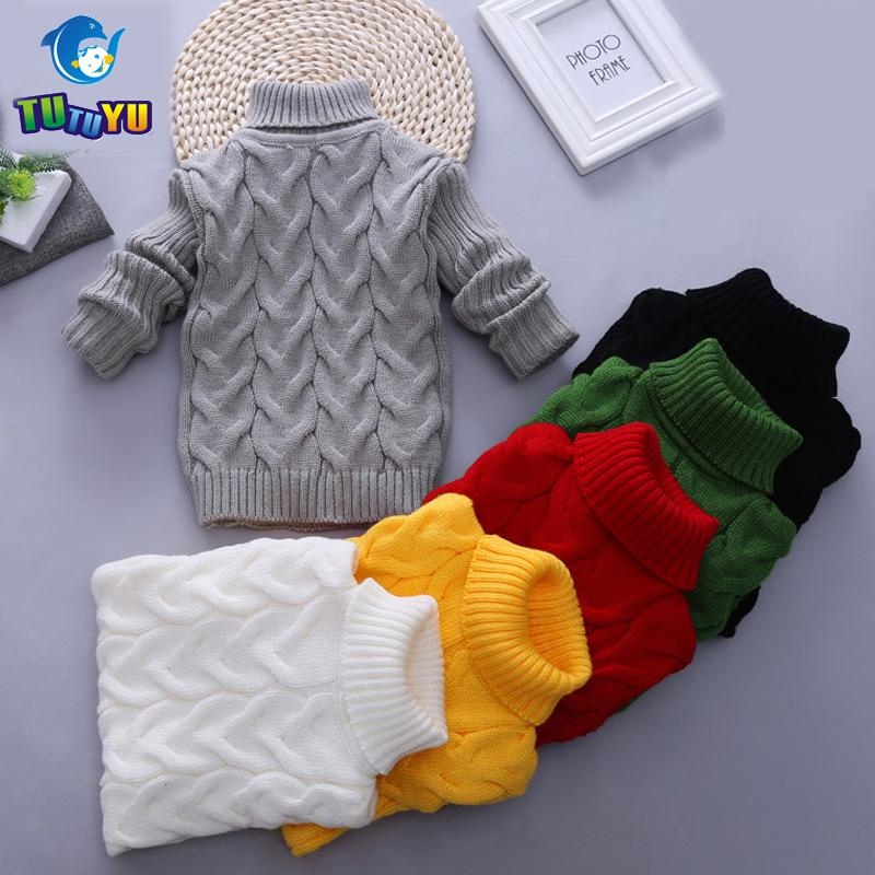 Tutuyu Baby Girls Boys Kids Sweater Autumn Winter Cartoon Tiny