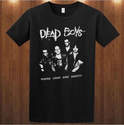 dead boy tee t shirt punk rock band pere ubu cheetah. Black Bedroom Furniture Sets. Home Design Ideas