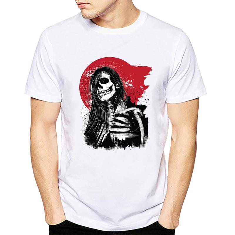 a94db6f6f Beautiful Skull Printing T Shirt Men Fashion Camisetas T Shirt Streetwear  Boys Summer Style Top Tees Tee Shirt Designers Funny Print T Shirts From  Italynest ...