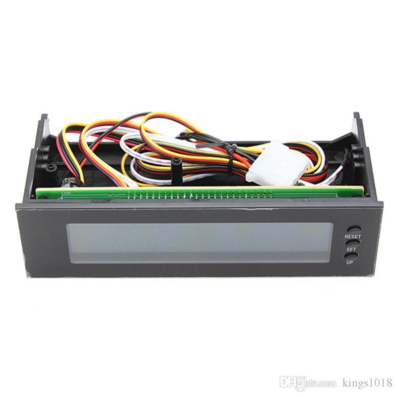 Brand New STW-5006 Computer Fall Intelligente Lüfter Drehzahlregler Automatische Temperaturregler PVC Bildschirm CPU Temperatursensor
