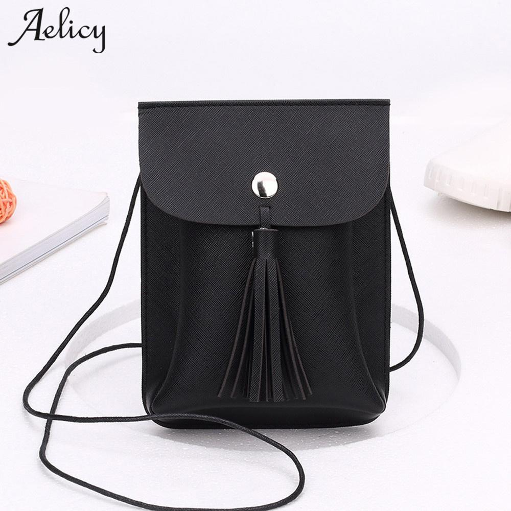 076b4fad96 Aelicy Luxury PU Leather Bag Female Fashion Women Tassels Bag Crossbody New Design  Hasp Ladies Women s Purses And Hand Bags Tassel Bag Designer Leather Bag ...