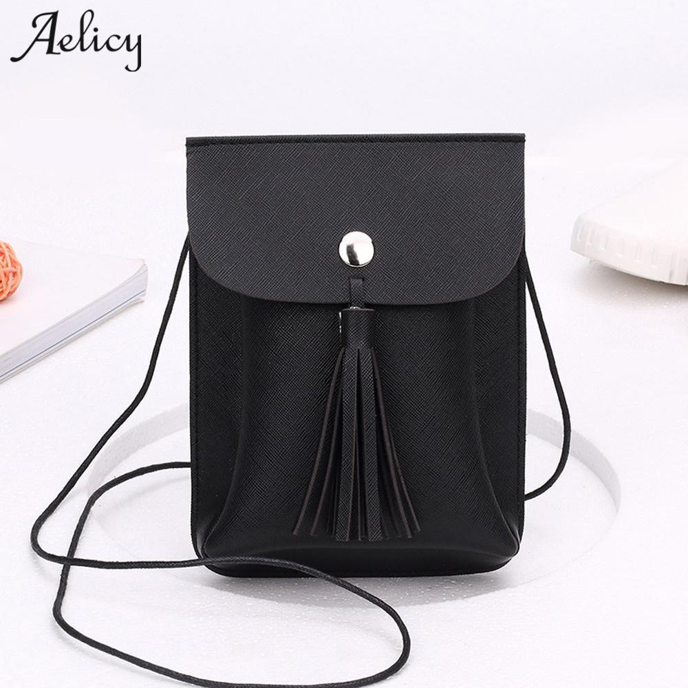 Aelicy Luxury PU Leather Bag Female Fashion Women Tassels Bag Crossbody New  Design Hasp Ladies Women s Purses And Hand Bags Tassel Bag Designer Leather  Bag ... b2419db68bc2c
