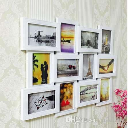 Plastic Photo Frame Wall Photo Multi-pictures Frame Collage Frame ...