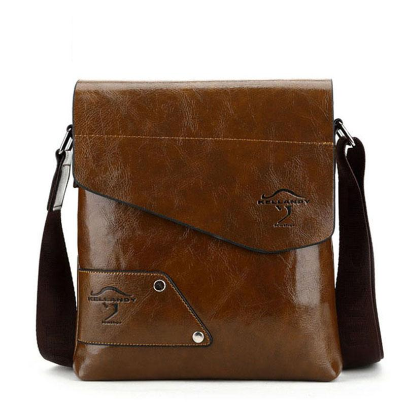1f6a07d5d5 Men Bag 2016 Famous Designer Kangaroo High Quality Men Messenger Bag ...