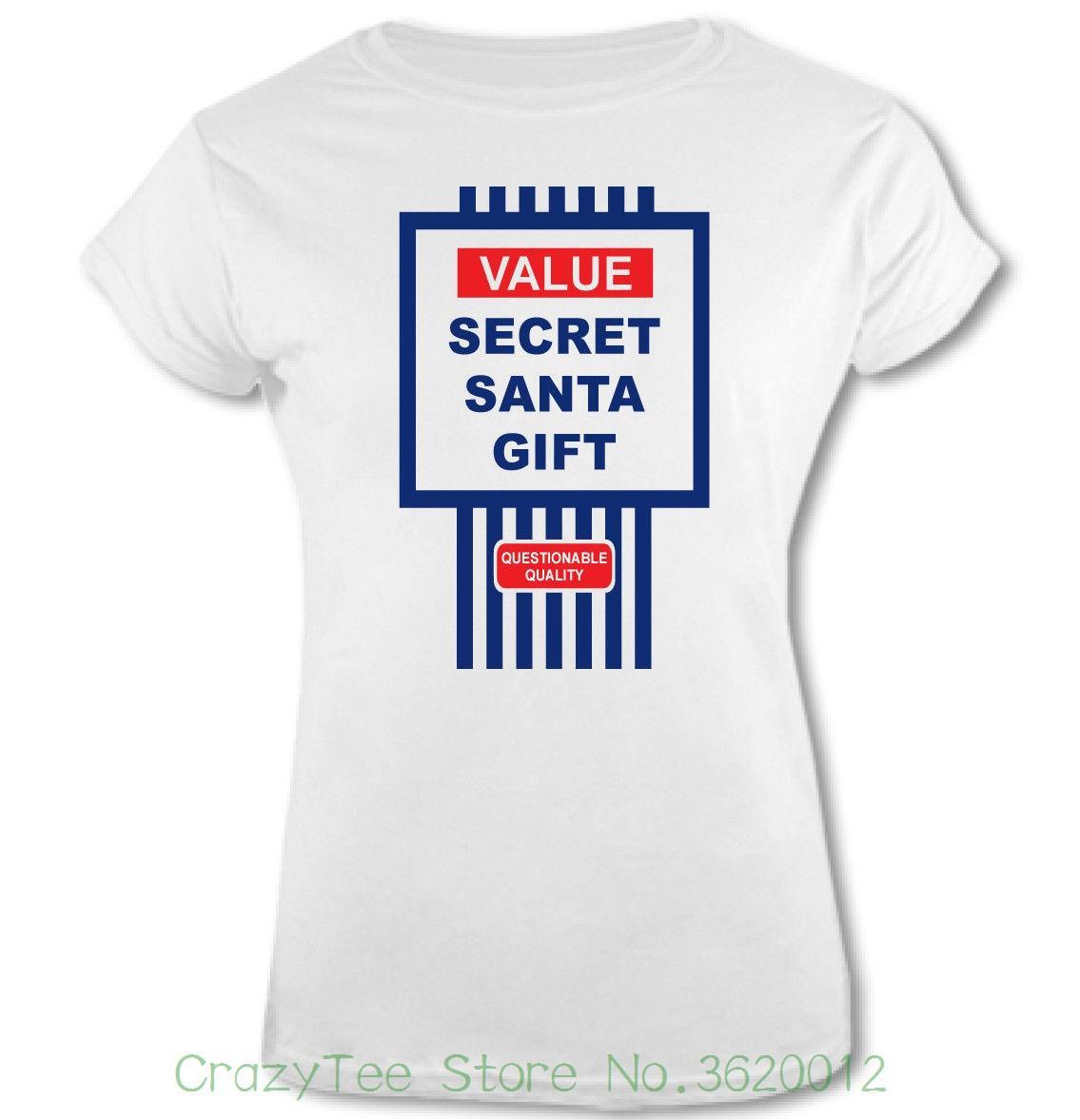 ab80d7a9 Women's Tee Tesco Value Style Secret Santa Gift Womens Funny Christmas T-shirt  Present Xmas Printed Tops Popular Tees