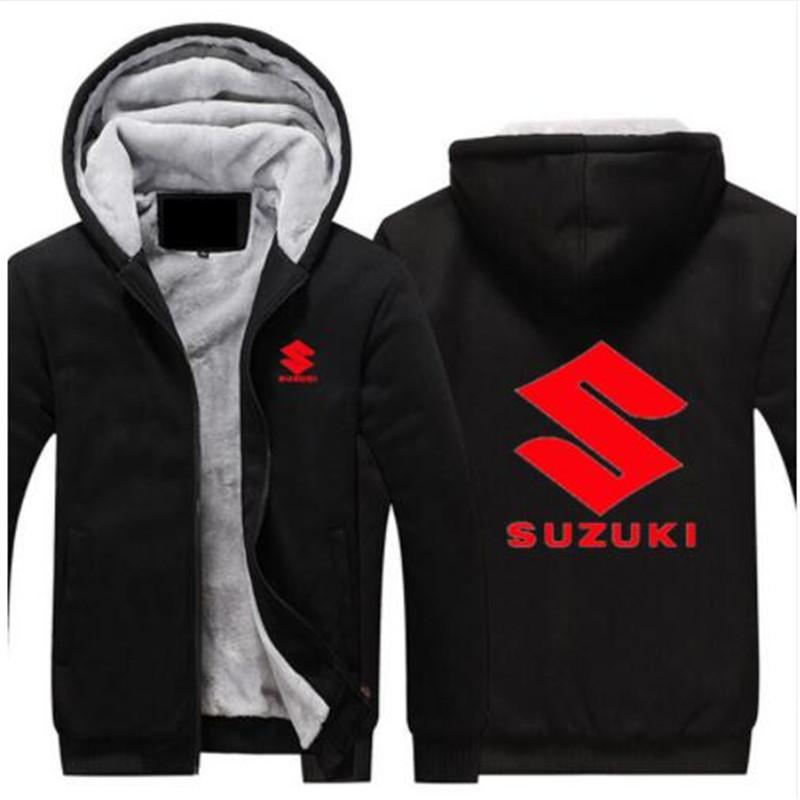 Imprimir Hombres Motocicleta Logo Chaquetas Rojo Suzuki Compre w0Iq8v8