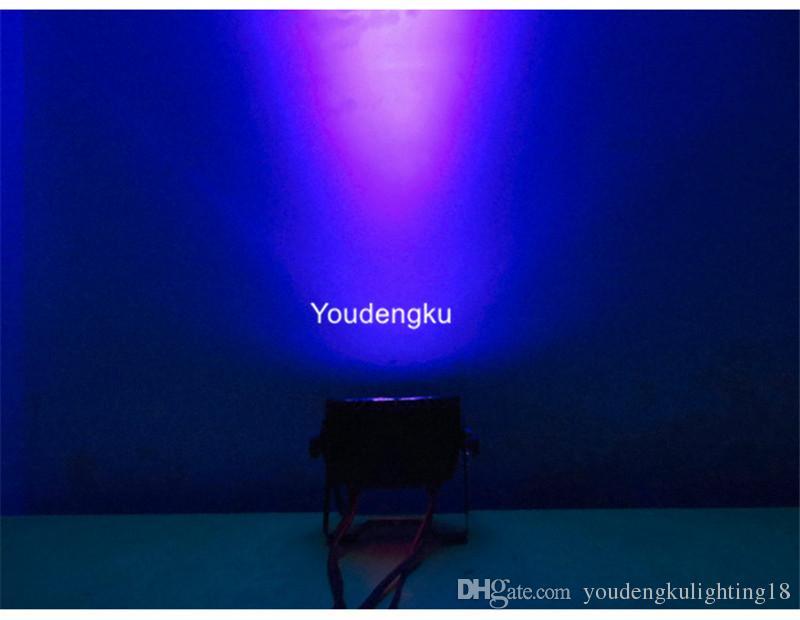 12 pièces en plein air Ip65 Chine par lumière led 12x15w rgbwa 5in1 led plat lumière par pour événement du parti