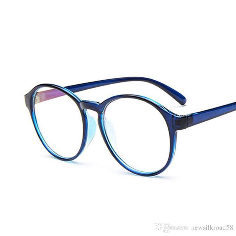 2b3edb55c Compre Marca De Moda Óculos De Armação Óculos De Miopia Retro Armações De Óculos  Óculos De Olho Óptico Claro Quadro Homens Mulheres Óculos Eyewea De ...