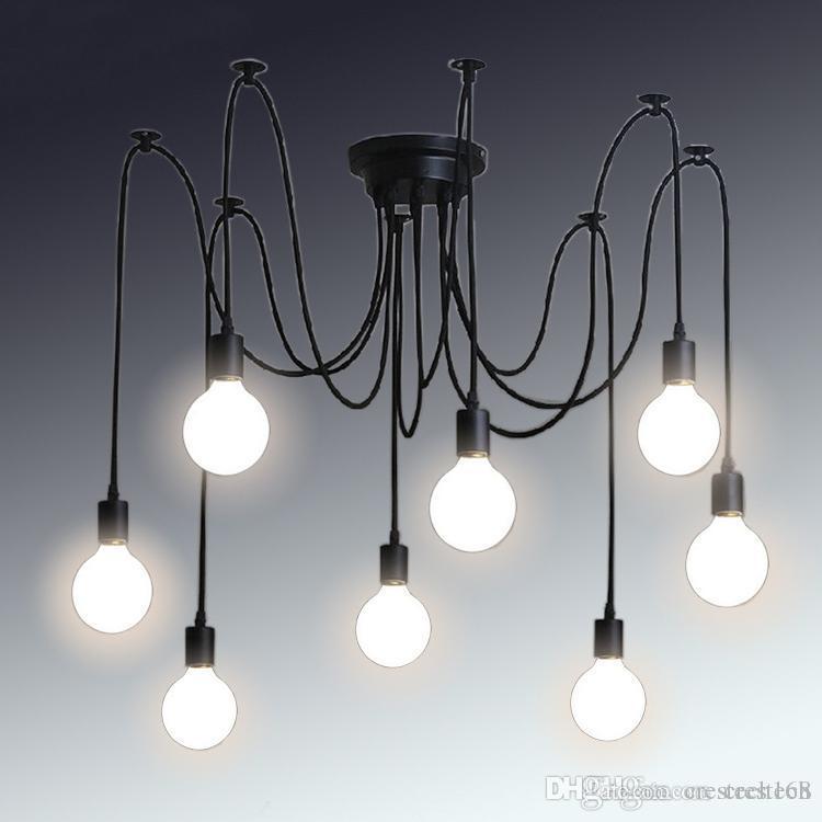 Retro Classic Chandelier E27 Spider Lamp Pendant