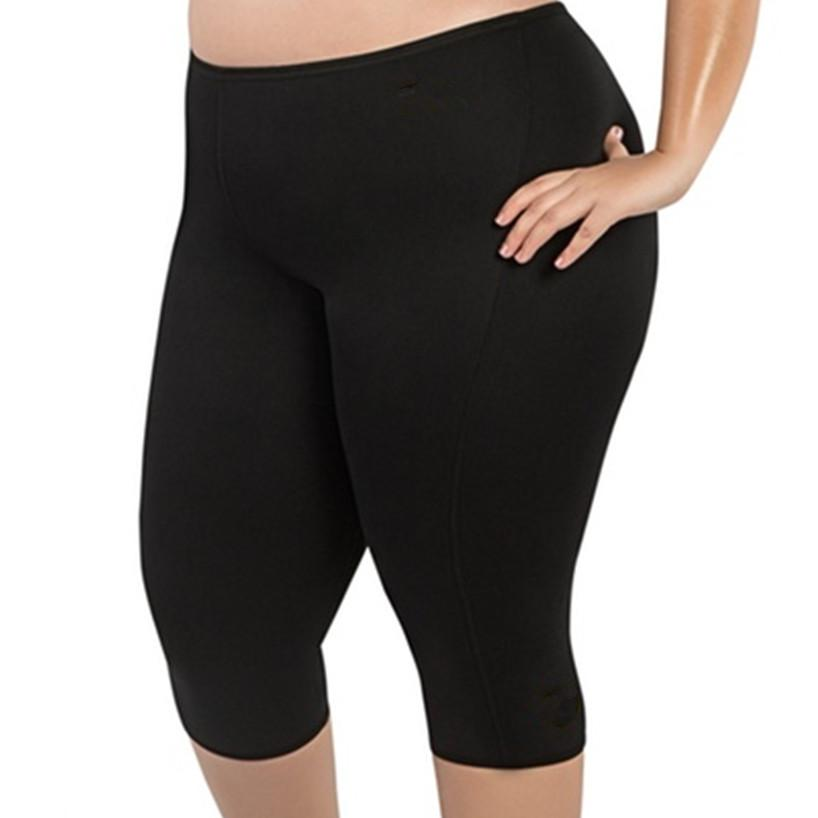 5f1c99d39eaed 2019 Womens Running Yoga Shorts High Waist Workout Fitness Slim Fit Elastic  Solid Tights Gym Quick Quick Dry Training Bottom Slimming From Kuyee, ...