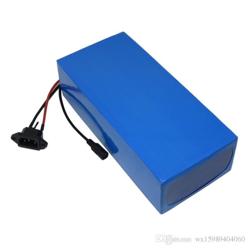 1500W 60V Batterie 60V 24AH Lithium-Batterie 60V Roller Batterie Verwenden Sie Samsung 3000mAh Zelle mit 30A BMS 67,2V 2A Ladegerät