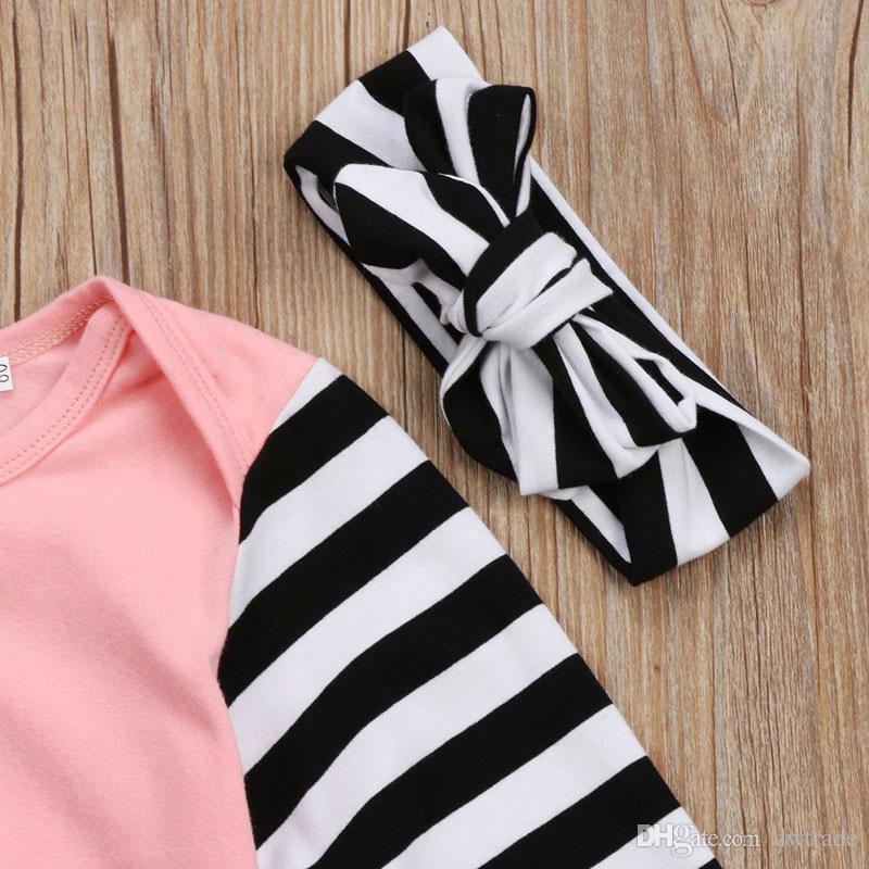 Nova Escalada Roupas Lenço + Mangas Compridas Camisa Dois Conjuntos Unisex Bebê One-piece Saco de Dormir Desgaste das Crianças 80 cm 2 Cores