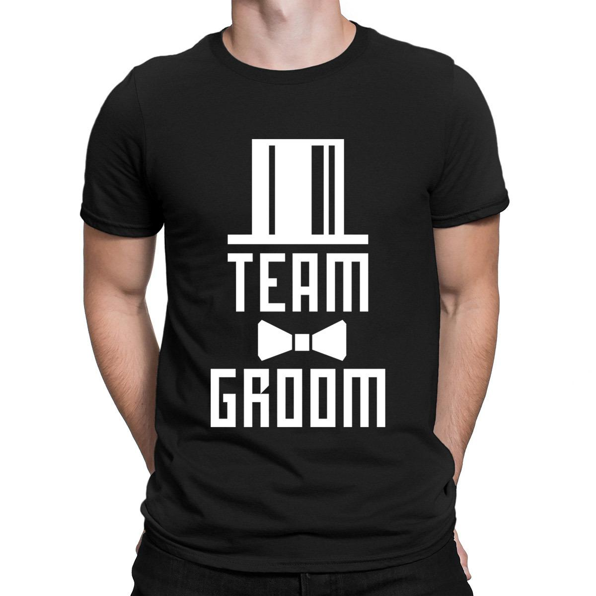 6445c877f0172 14 Team Groom Bachelor Party Jga Cylinder Hut Bff Tshirt Graphic Spring  Autumn T Shirt For Men Customized Websites Pop Top Tee