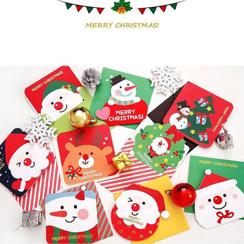 Creative different shape christmas theme small card christmas new creative different shape christmas theme small card christmas new year greeting message card gift cards with envelope greeting cards online free greeting e m4hsunfo