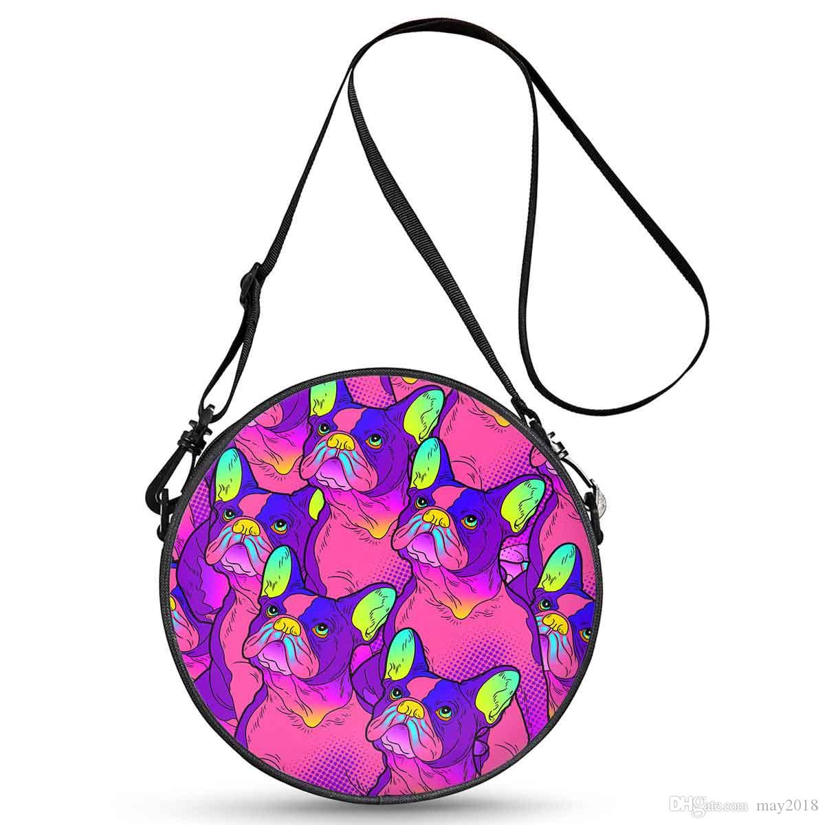 22e31cd9826 Cheap Price Top Quality Reusable New Style Design Your Own Logo on Round  Bag for Young Women