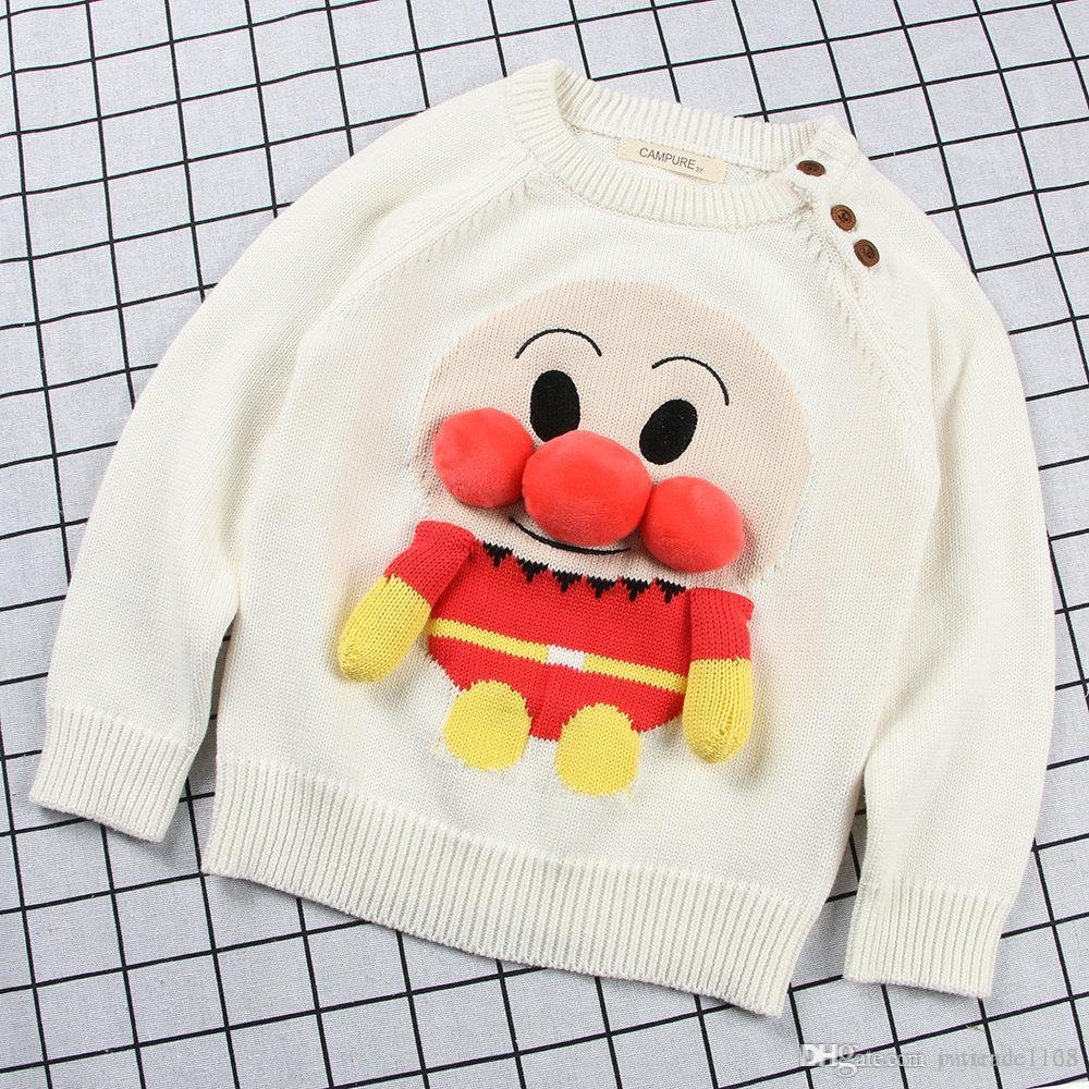 2018 Hot Sell New Style Plush Thickening Pullover Cartoon Handwork ...