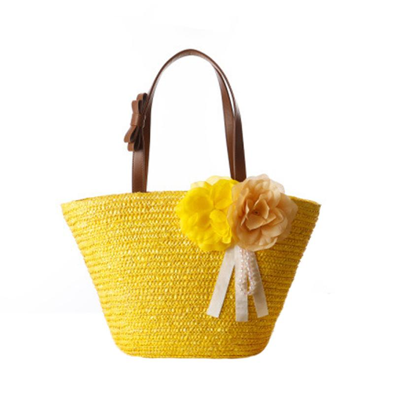 07a4f01c3379 Women Weave Straw Bags Casual Luxury Handbags Designer Beach Totes Bags For Female  Bohemian Handbags Ladies Hand Bag Sac A Main Cheap Purses Kathy Van ...