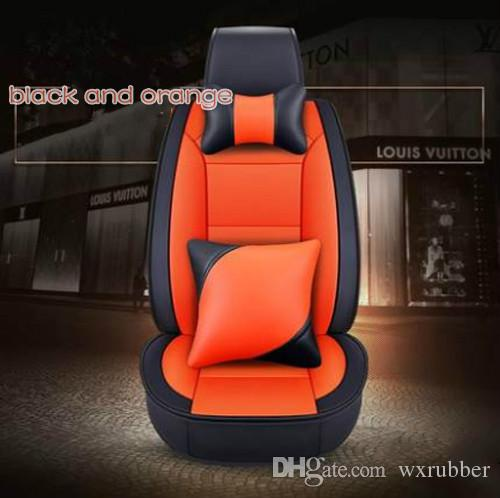 2018 New Type Universal Car Accessories Full Set Seat Covers For Chrysler 300CSebringLandroverEvoqueDiscovery Sport Liner