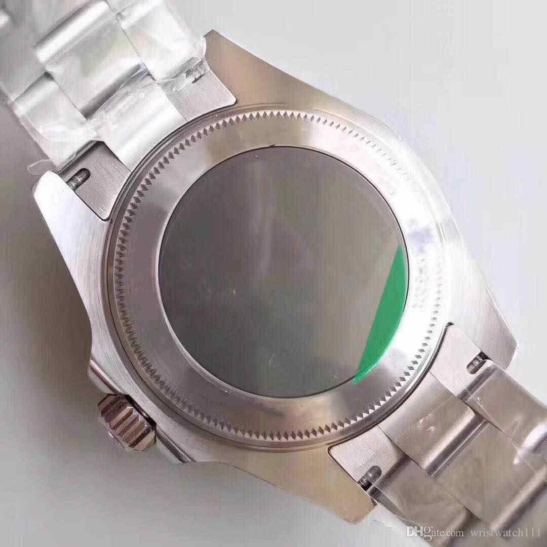 2018 top ghost king N factory V7 versión, reloj de anillo cerámico, 2836 máquina automática zafiro, reloj super impermeable