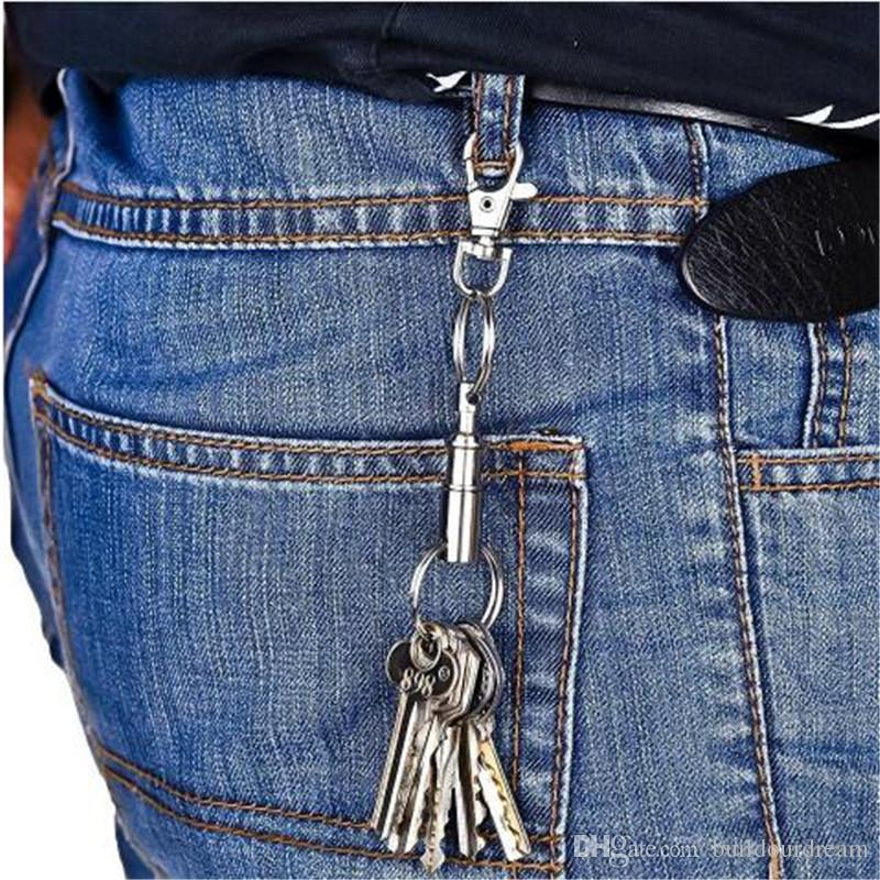 Fashion 2 Heavy Duty Dual Key Ring Quick-Release Key Holder Pull-Apart KeyRing EDC Gear