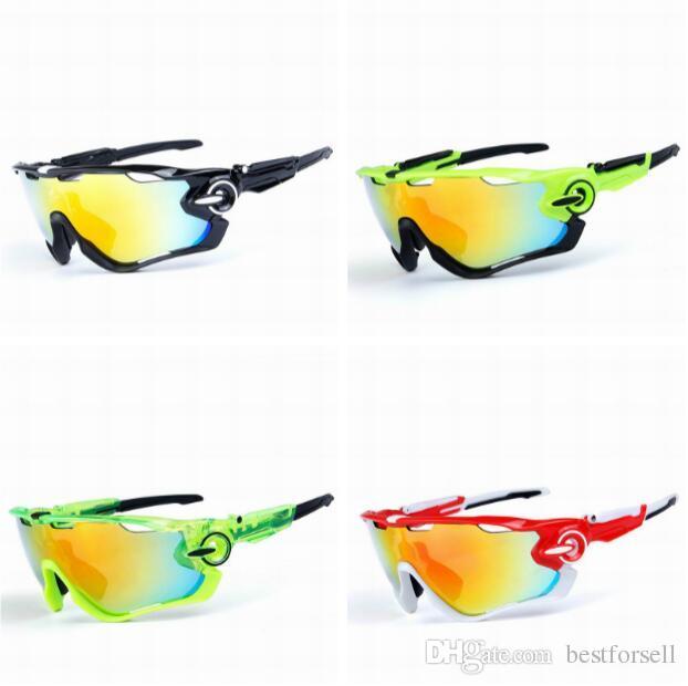 febb3e651ae Fashion Polarized Sunglasses Interchangeable 3 Lens Brand Designer Cycling  Bike JAW Racing Sports Goggles Mountain Sun Glasses With Cases John Lennon  ...