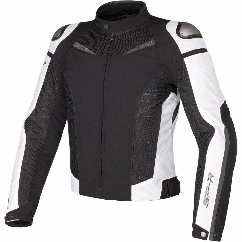Summer Motorcycle Sport Riding Protective Jacket MotoGP Racing Dain Super Speed Textile Jacket With Protectors