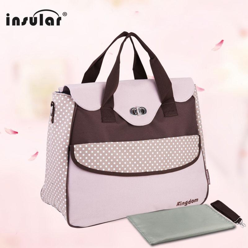 8f0d7a3599 2018 Insular Fashion Baby Diaper Bags For Stoller Multifunctional Maternity  Bag Casual Designer Nappy Bags Mummy Tote For Travel From Vingner