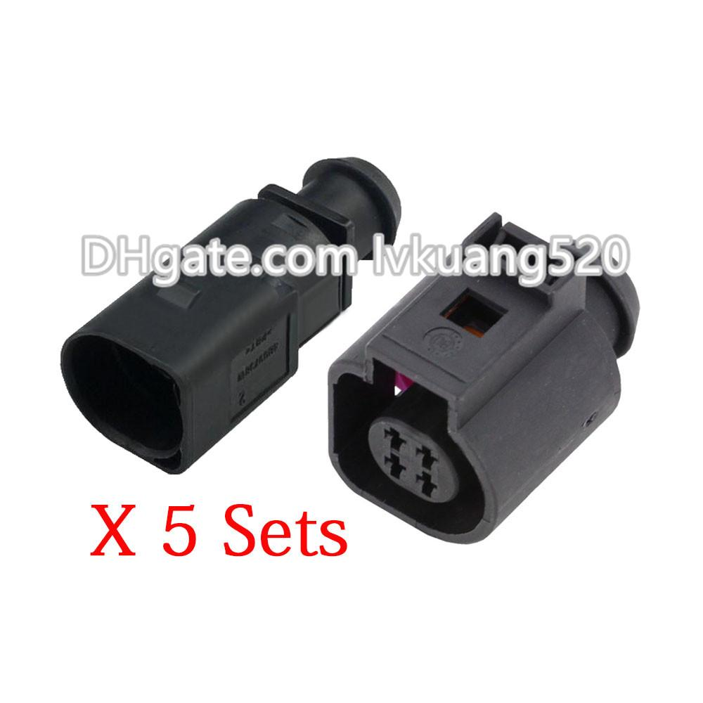 5 Sets 4 Pin Male and Female Automotive Connector Sensor Plugs DJ7042B-1.5-11/21 Waterproof Connector