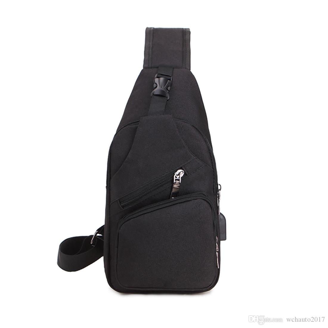 8b19ab1e59 2019 Sling Backpack Bag Newest Oxford Crossbody Bag Chest Shoulder Triangle  Backpack Sport Bag For Man Outdoor Running Travel Cycling Hiking From ...