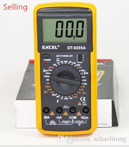 DIGITAL MULTIMETER DT9205A PDF DOWNLOAD