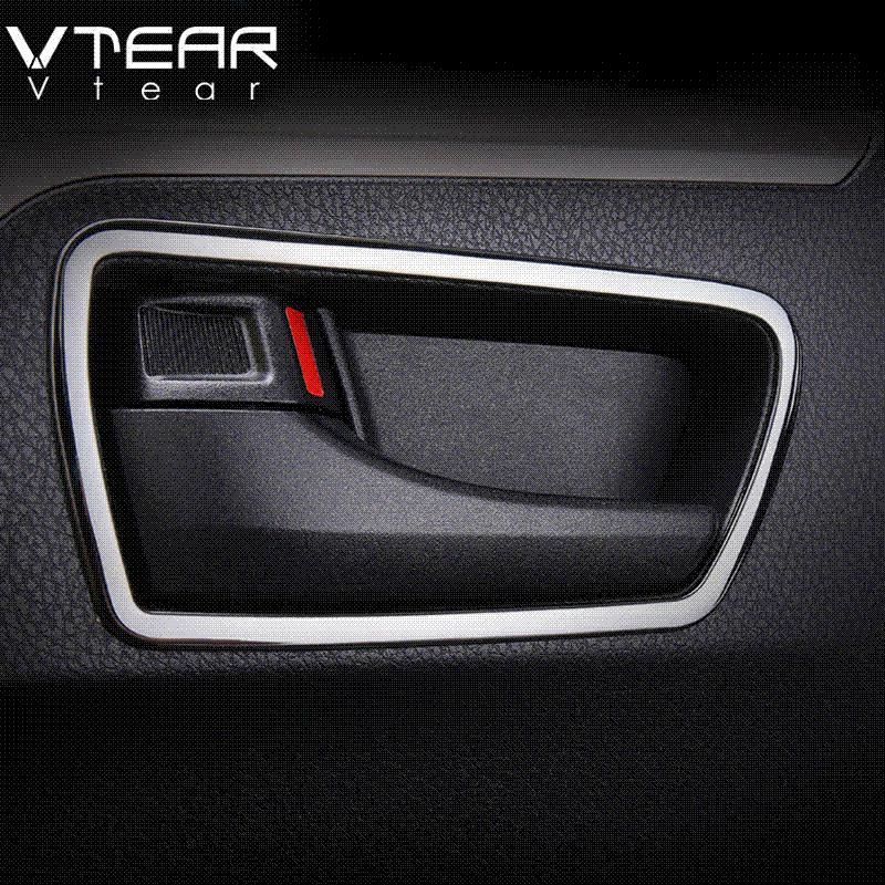 Interior car door handles E84 Vtear For Toyota Rav4 2016 Car Trim Interior Door Handle Bowl Cover Mouldings Styling Decoration Products Accessory 2017 2018 Internal Car Parts Names Lime Dietasok Vtear For Toyota Rav4 2016 Car Trim Interior Door Handle Bowl Cover