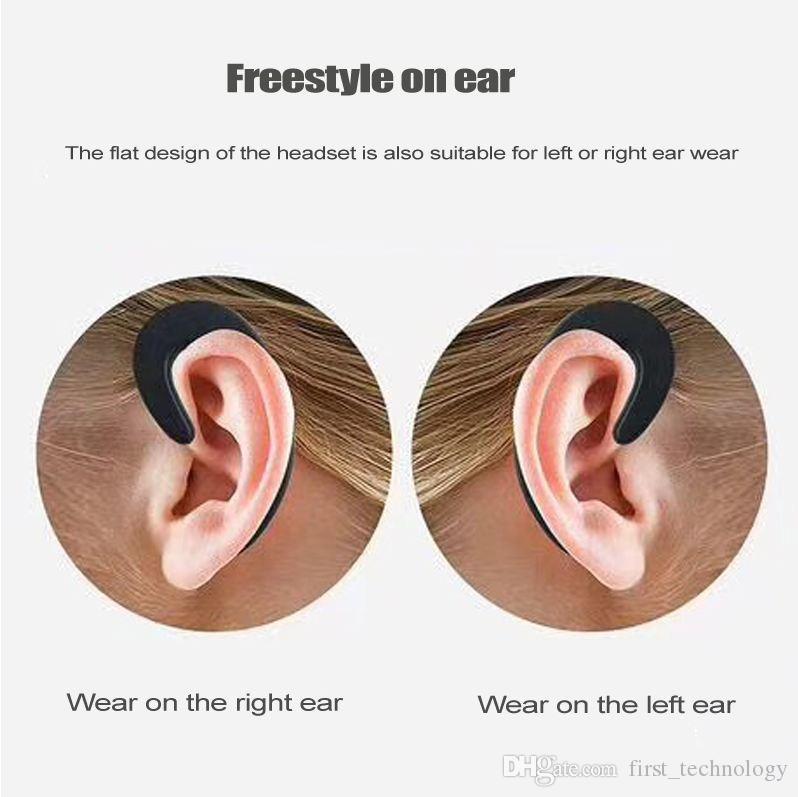 s-103 Ear-hook Headset Wireless Bluetooth Earphone unilateral Wireless Headphones HD call No earplugs Bluetooth Phone Headset with Mic
