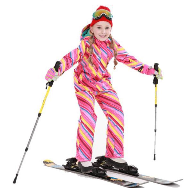 c7969975a763 2019 Wholesale Girls Ski Jacket Suit Waterproof Kids Ski Jacket Ski Pants  Thermal Boys High Quality Winter Clothing Snowboard Down Coats Sets From  Stem, ...